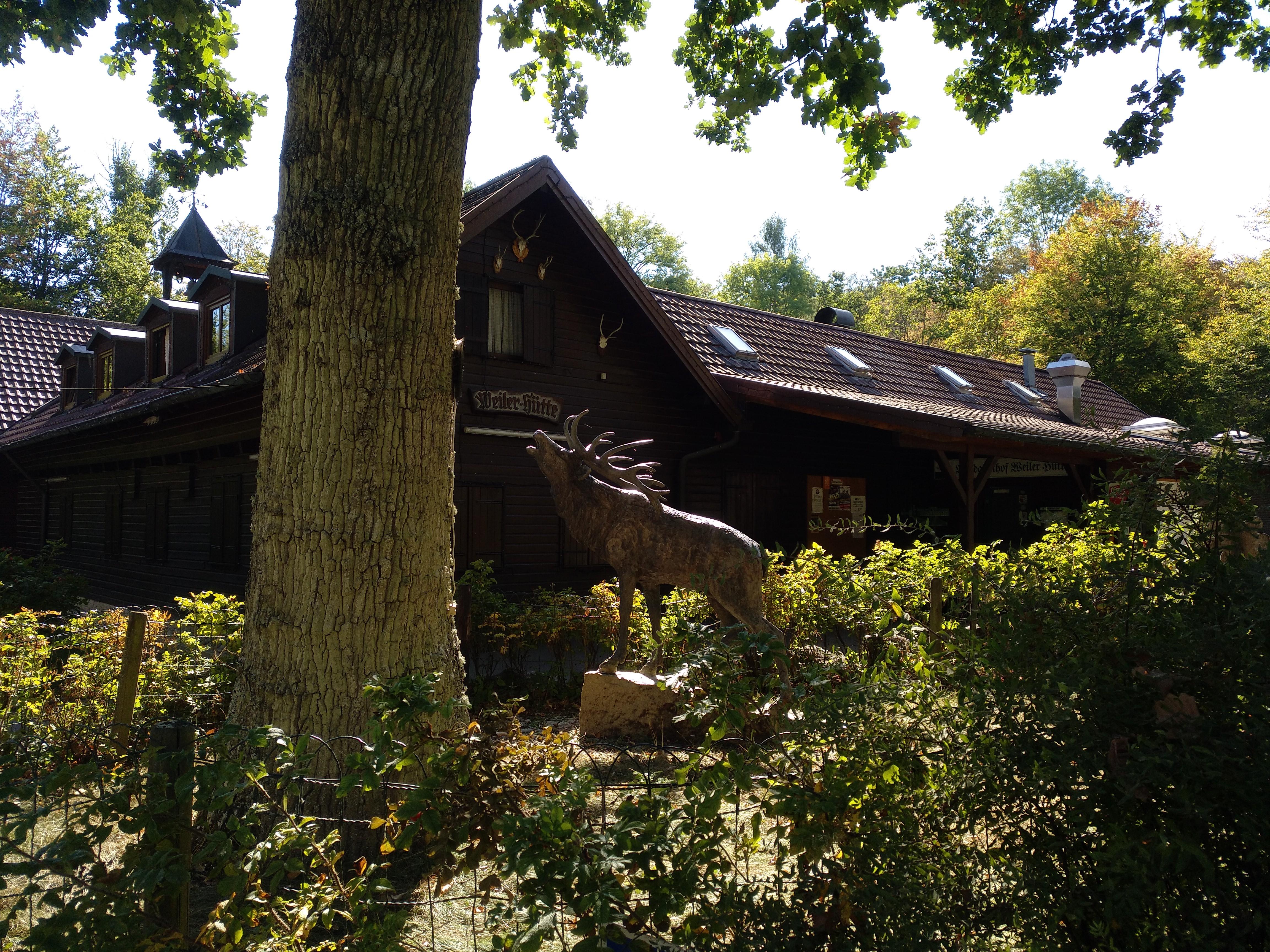 Radtour zur Weiler Hütte
